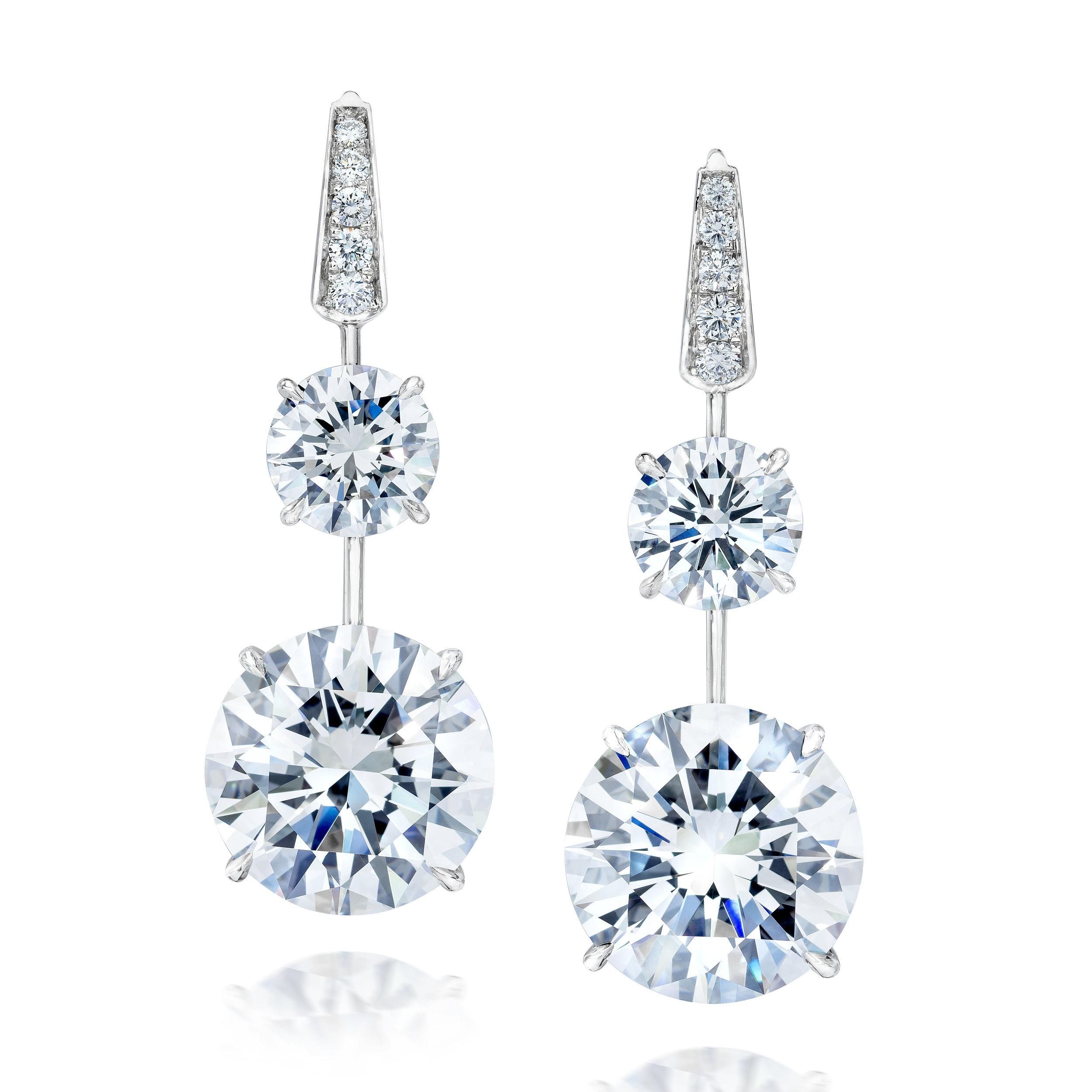 9.5ct Pair Diamond Earrings Front set.jpg