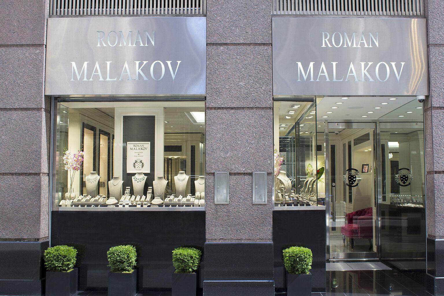 Roman Malakov Storefront