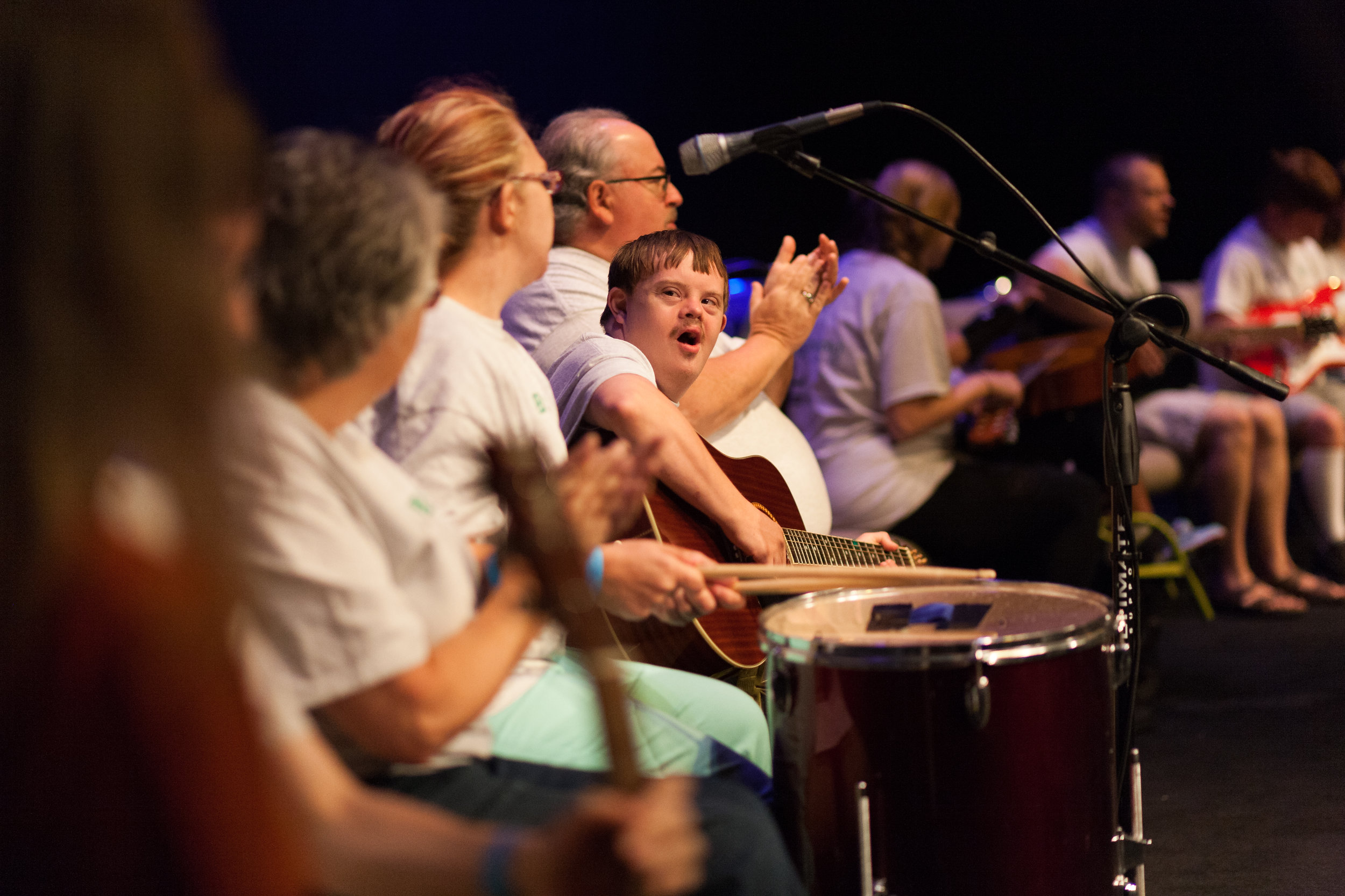 Programs for those who have intellectual and physical disabilities through David's Promise, New Song Music Therapy Camp, and various events. -
