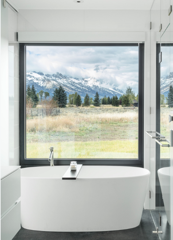 Shannon White Design mountain bathroom