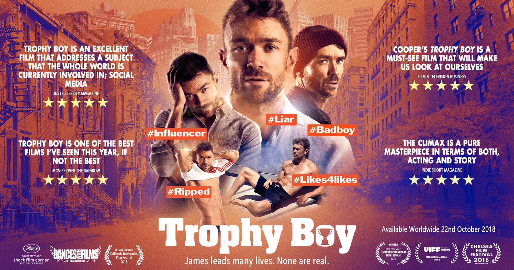 TROPHY BOY WORLDWIDE RELEASE - October 22nd, 2018