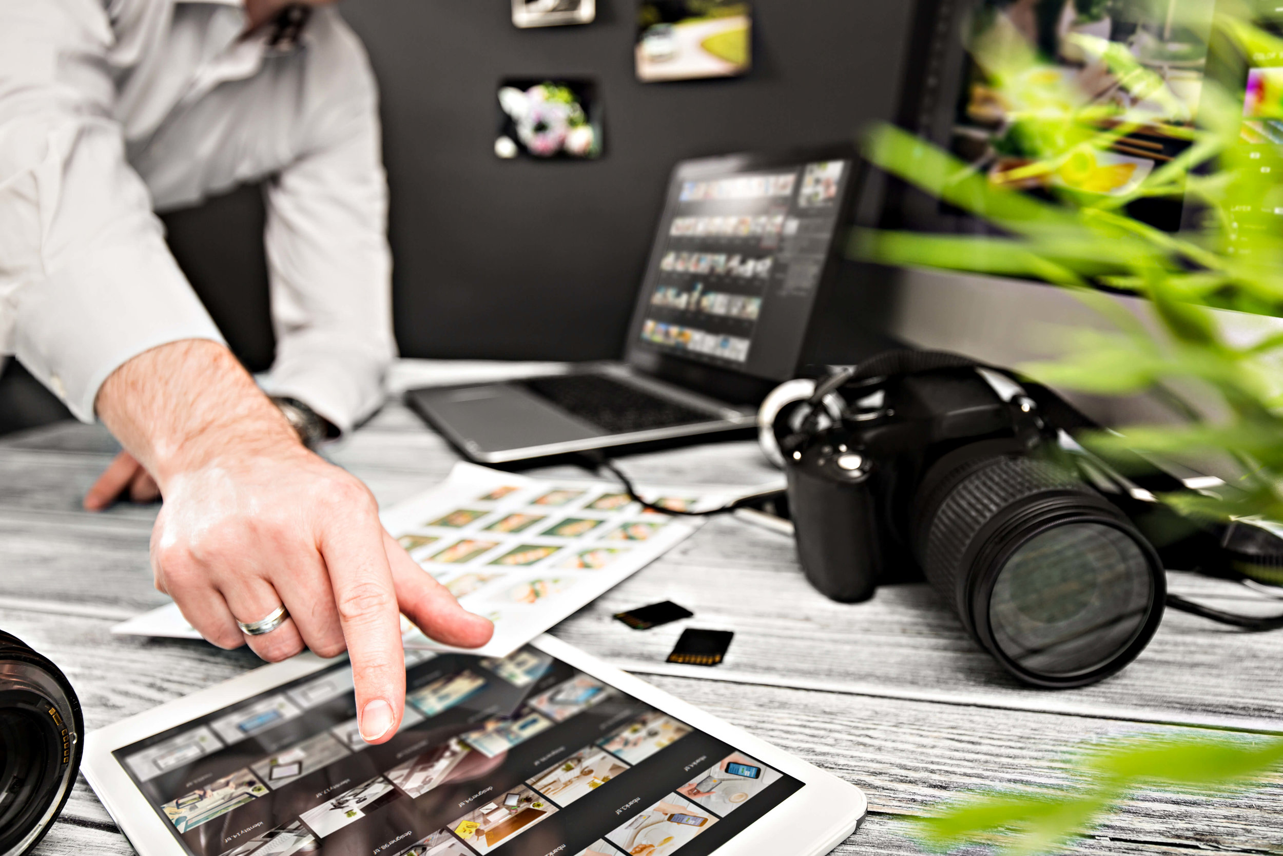 COMMERCIAL PHOTOGRAPHY - Eye-catching, professional imagery is important in ensuring a cohesive