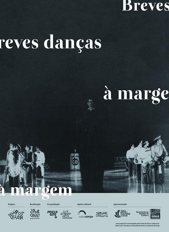 Livro Breves Danças à Margem.