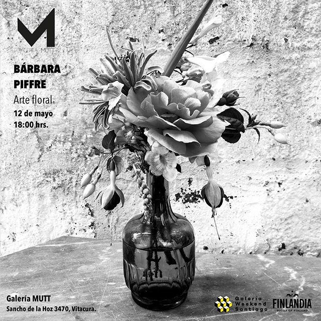 ¡No se pierdan nuestra muestra de Bárbara Piffre en el marco de @galeriaweekendsantiago! Todos invitados el próximo sábado 12 de mayo a las 18:00 hrs. en la galería.