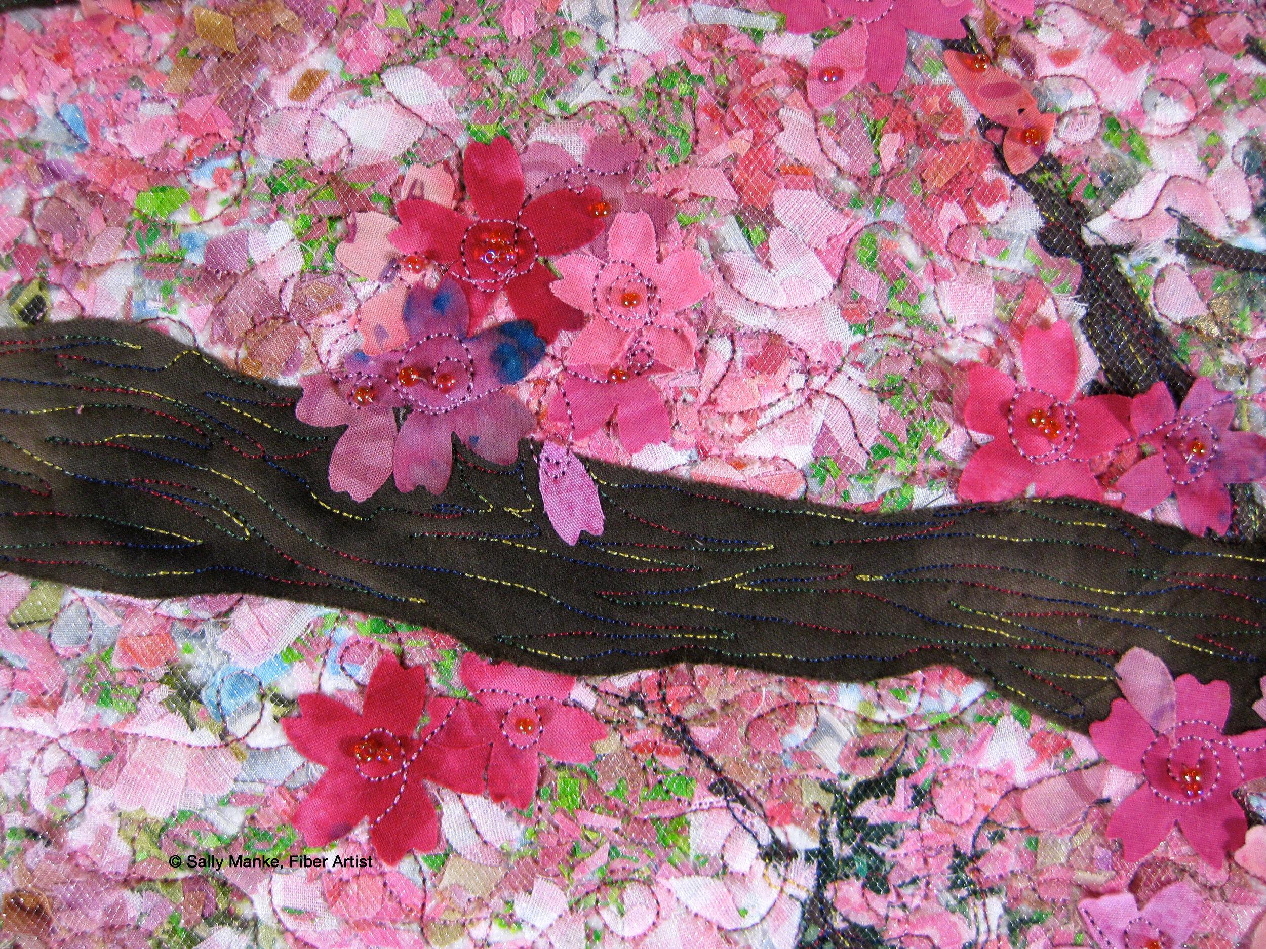 Cherry Blossom - Detail