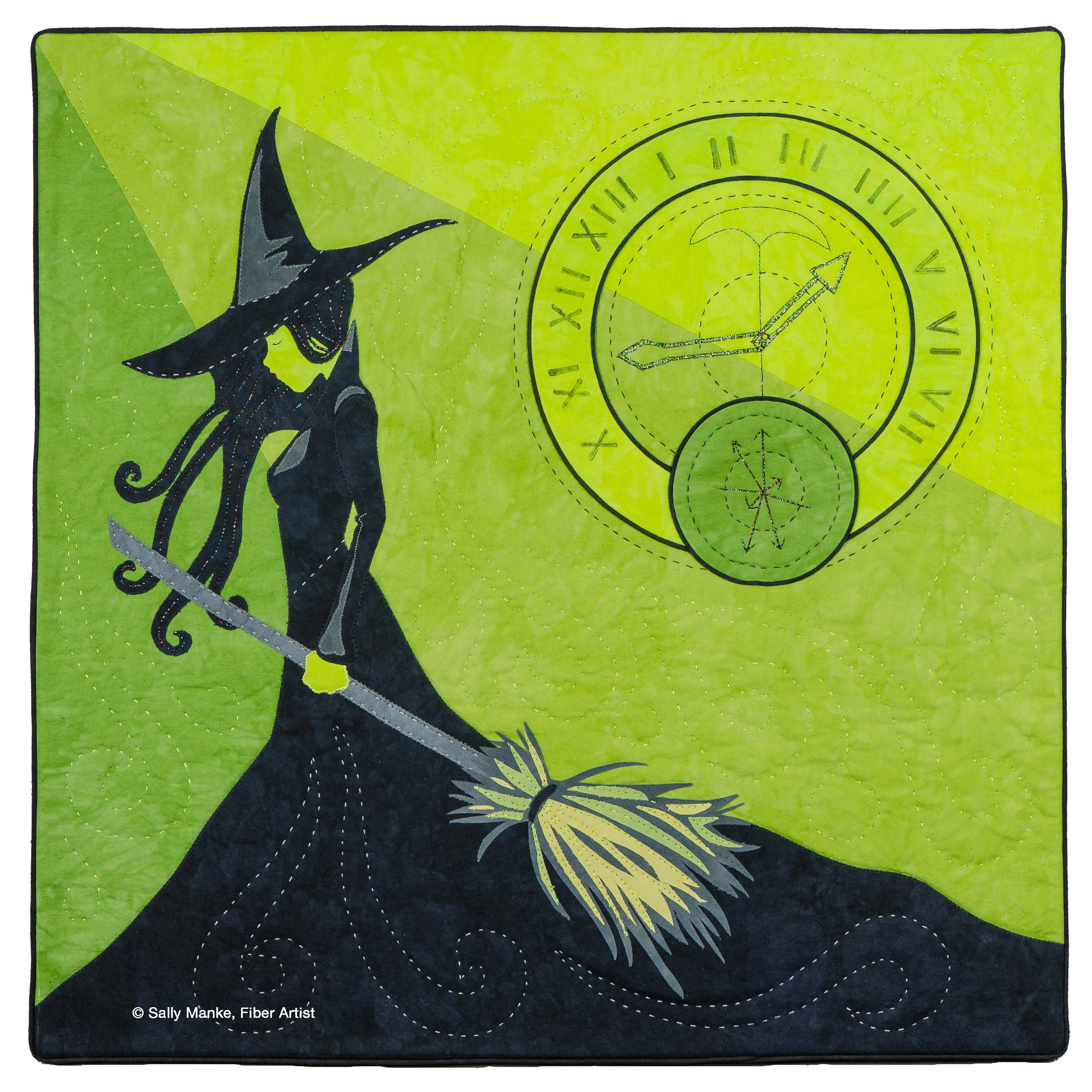 Elphaba and the Time Dragon Clock