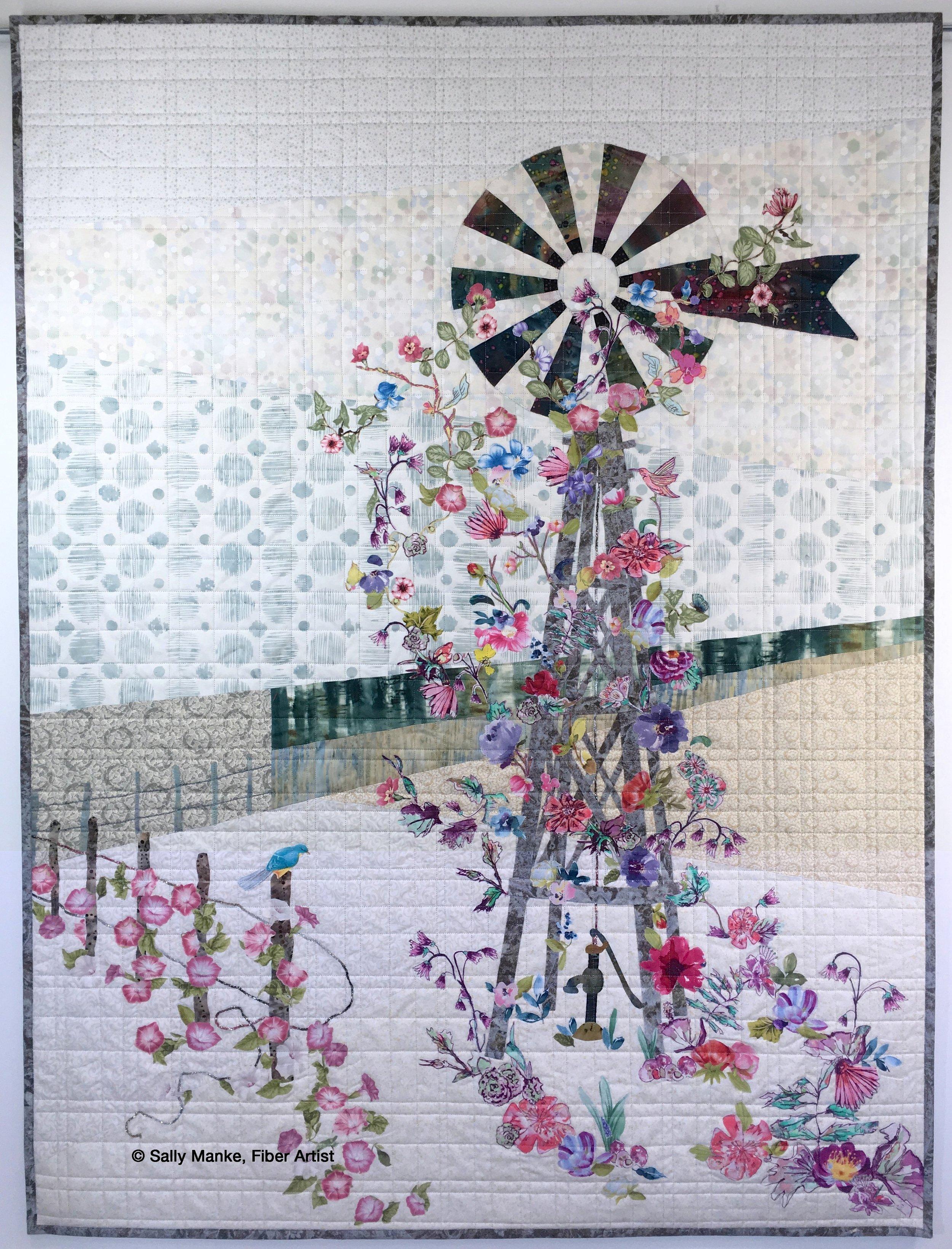 Floral Windmill