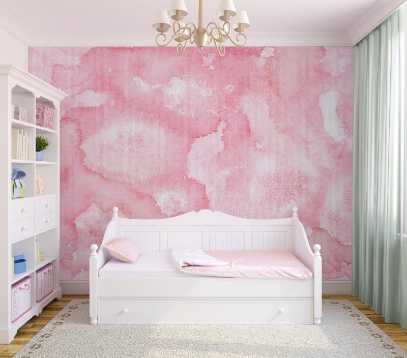 Petal Wallpaper Mural // Collection: Joyfire by Beth Glover for Mitchell Black