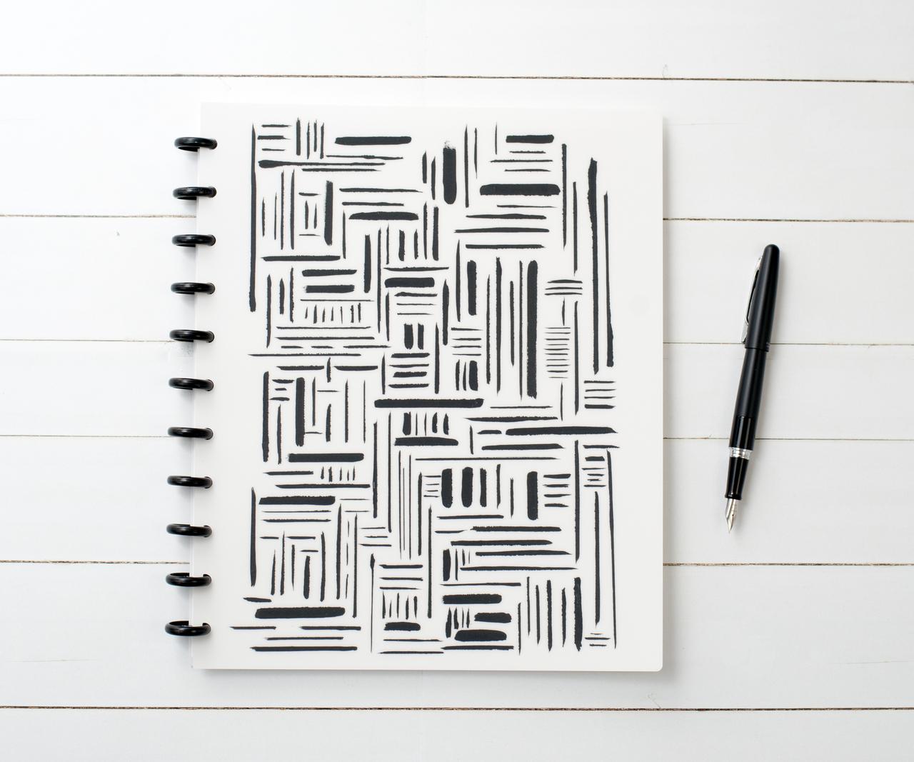 Align Matte Cover // Collection: Black + White for Natalie Rebecca Design