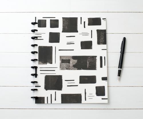 Glide Matte Cover // Collection: Black + White for Natalie Rebecca Design