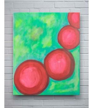 Circular Vibrancy - Wall Art // Licensed to Splashworks