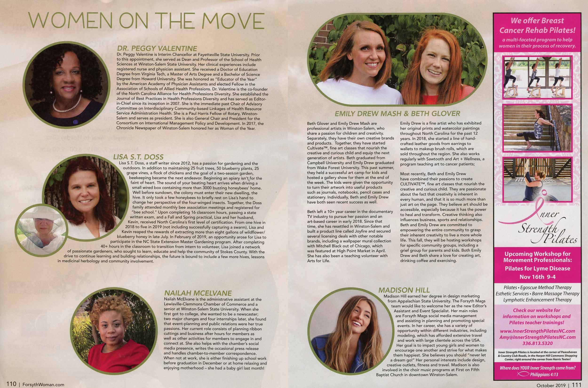 Forsyth Woman Magazine - October 2019 Issue