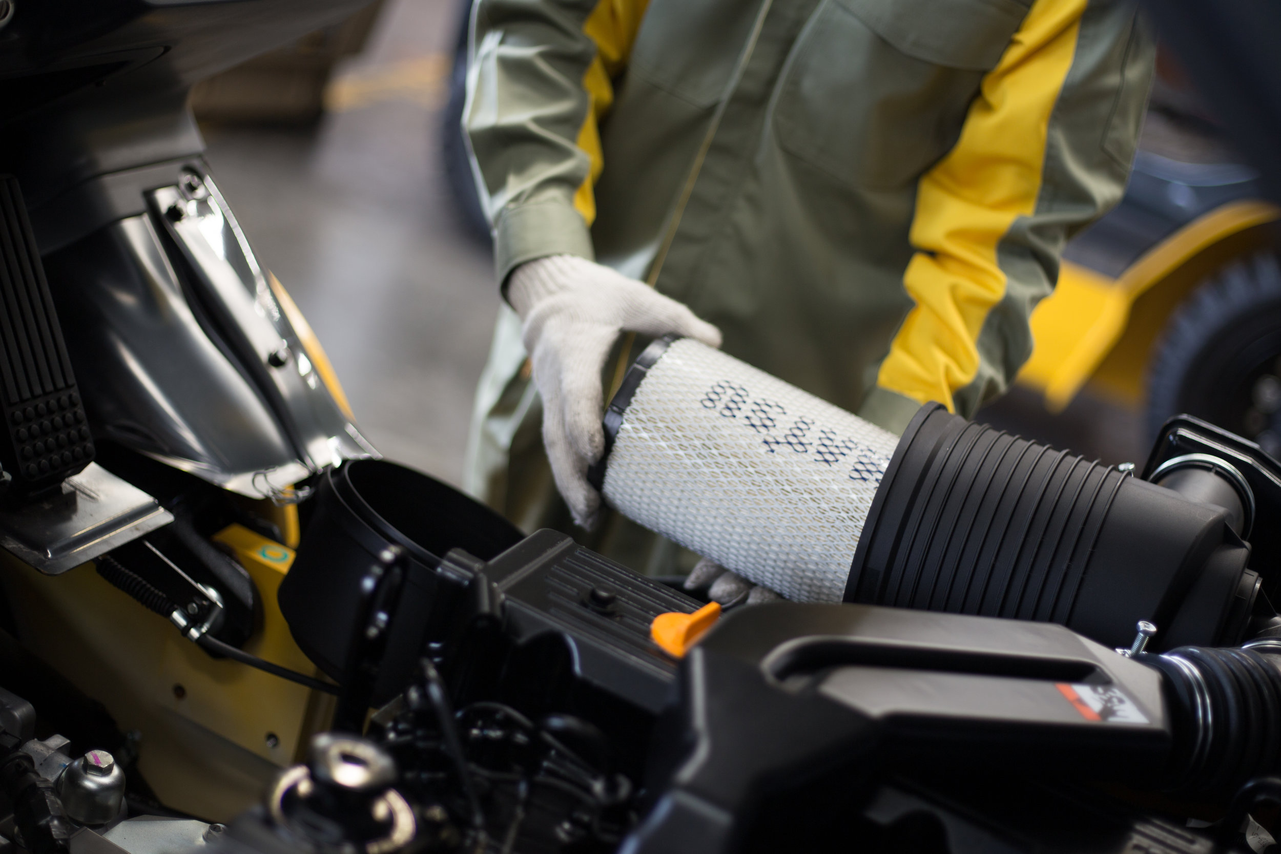 Preventative Maintenance Program - Trucks that are kept clean and serviced are less likely to have break downs and are more cost effective and provide longer service. Our trained technicians know that preventative maintenance is a key part of a forklift's success in any application.