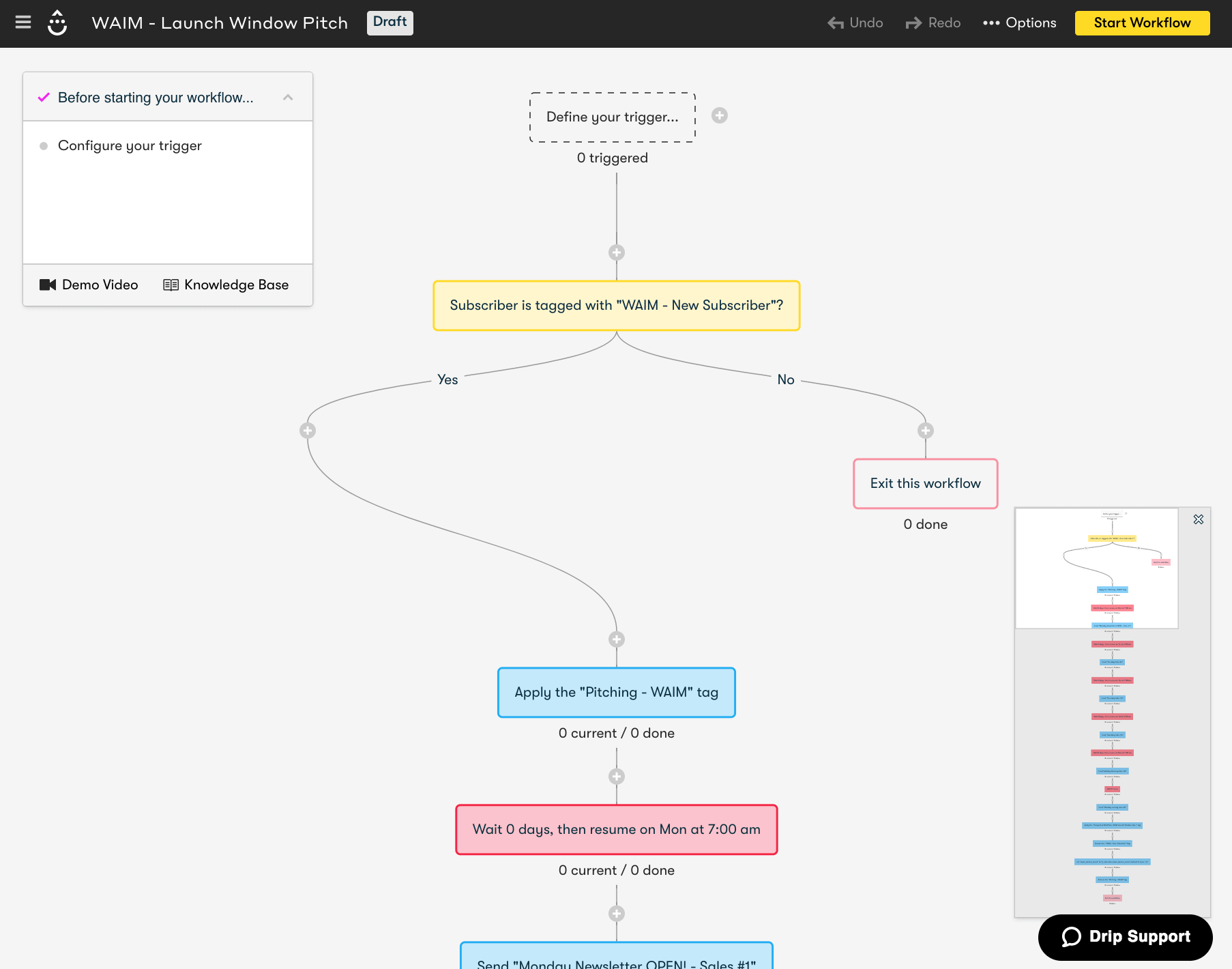 A snapshot of one of the many automation workflows we'll be creating