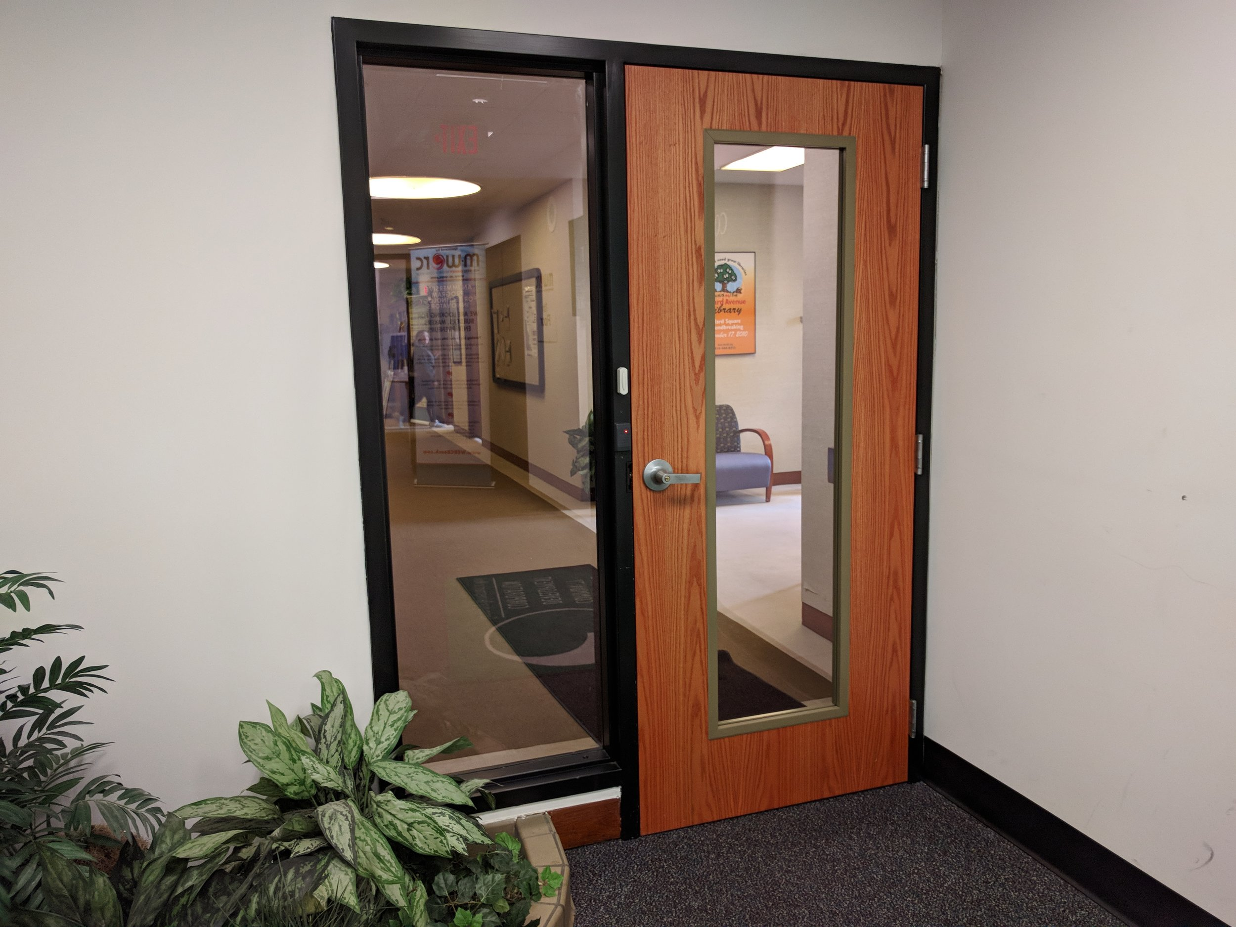 Office Entry during Office Hours