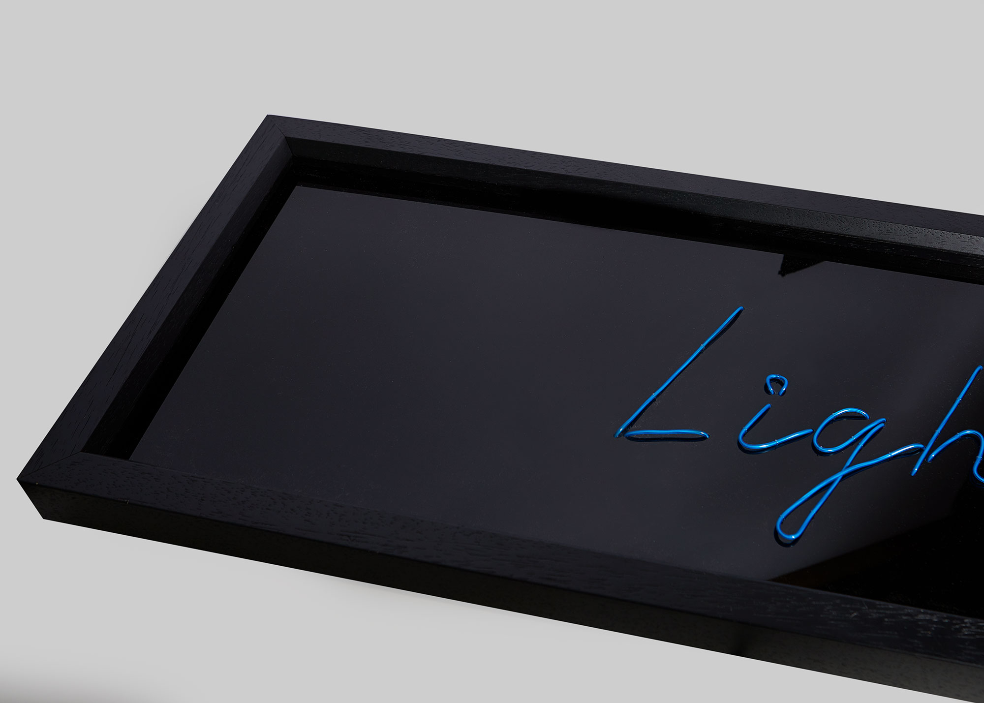 Black Perspex - High gloss black perspex with your choice of text, font and colour.