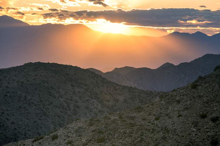 Sunset @ Keys View