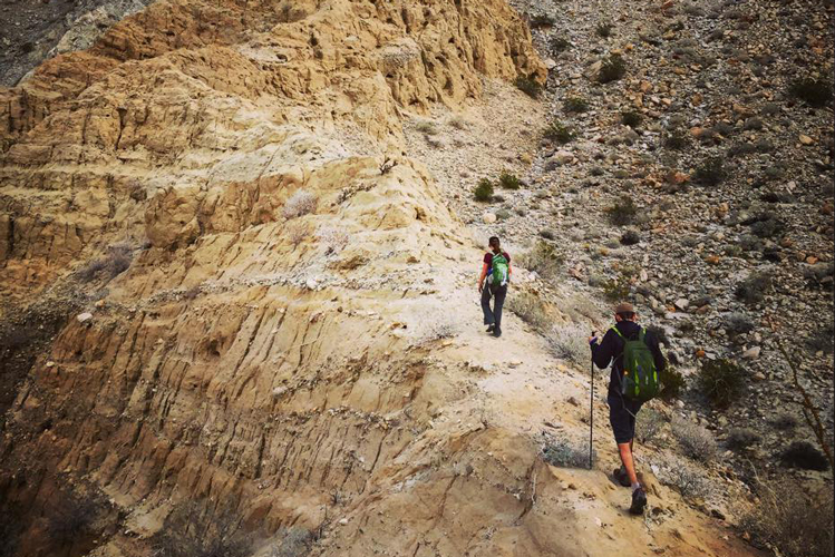 Hiking in Anza Borrego State Park