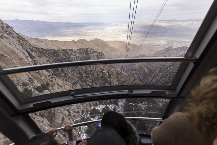 Riding the Aerial Tram