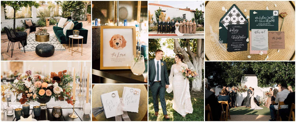 A glimpse at mine + Chris' wedding day by  Plum & Oak Photo