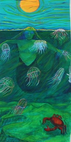 Water Women paintings