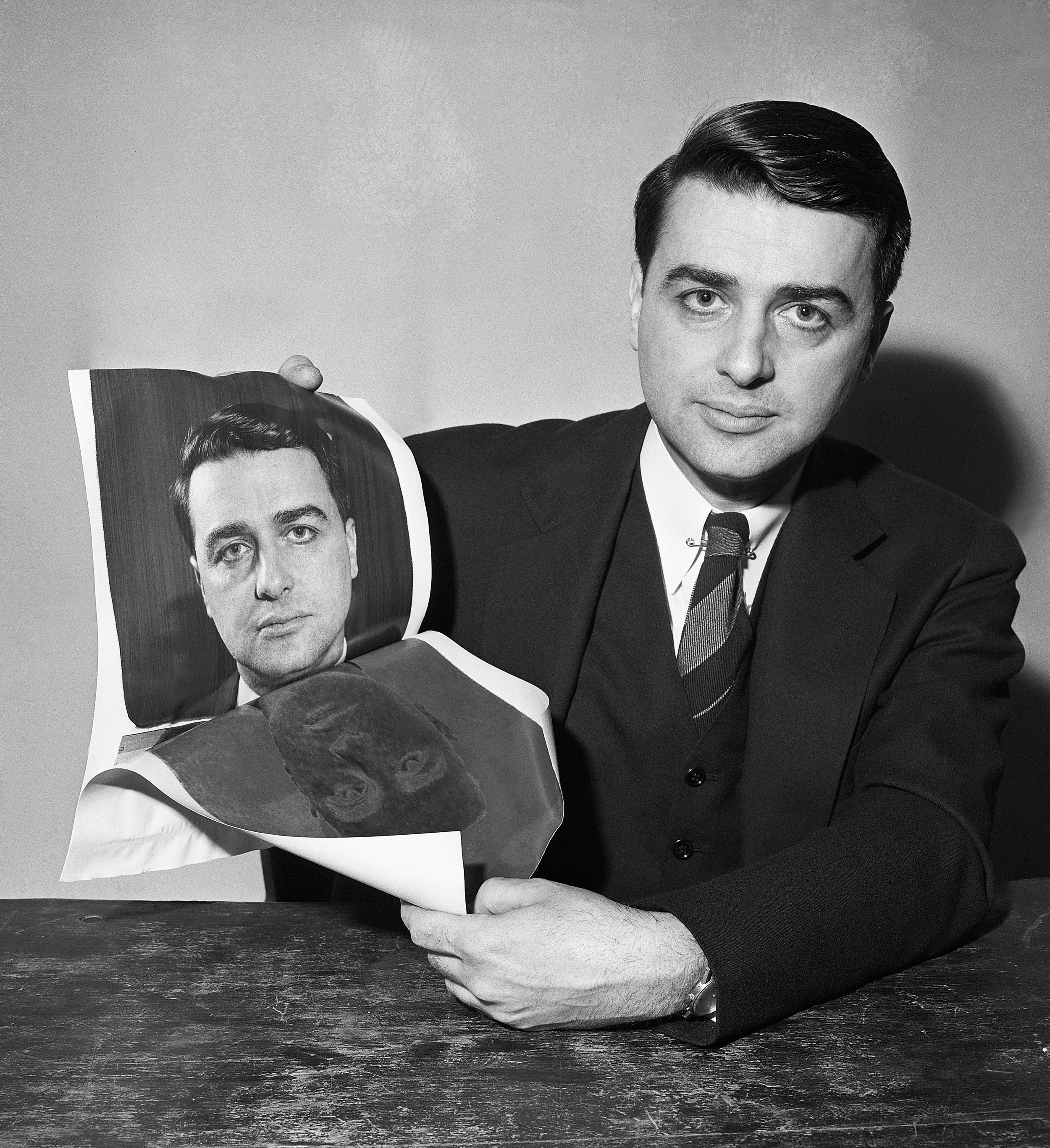 Edwin Land, founder of Polaroid and mastermind of the U-2 project (Getty Images)