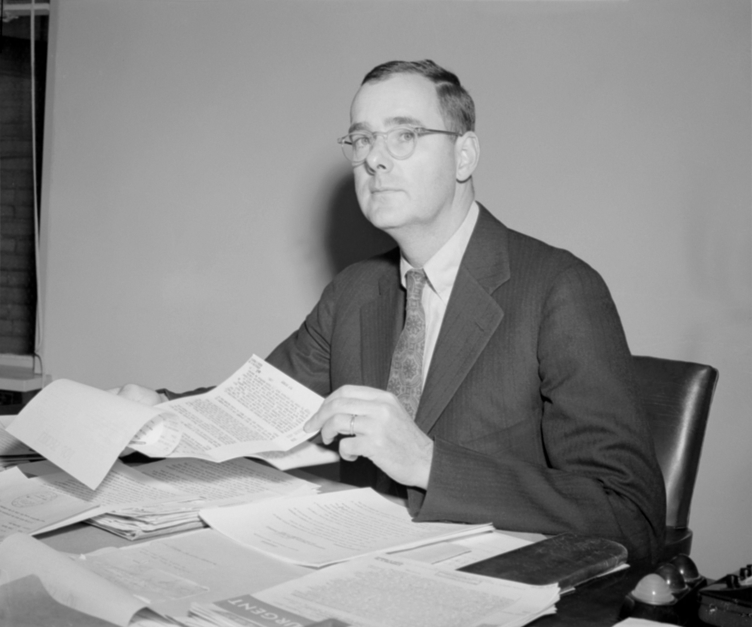 Richard M. Bissell Jr., CIA project leader for the U-2 (Getty Images)