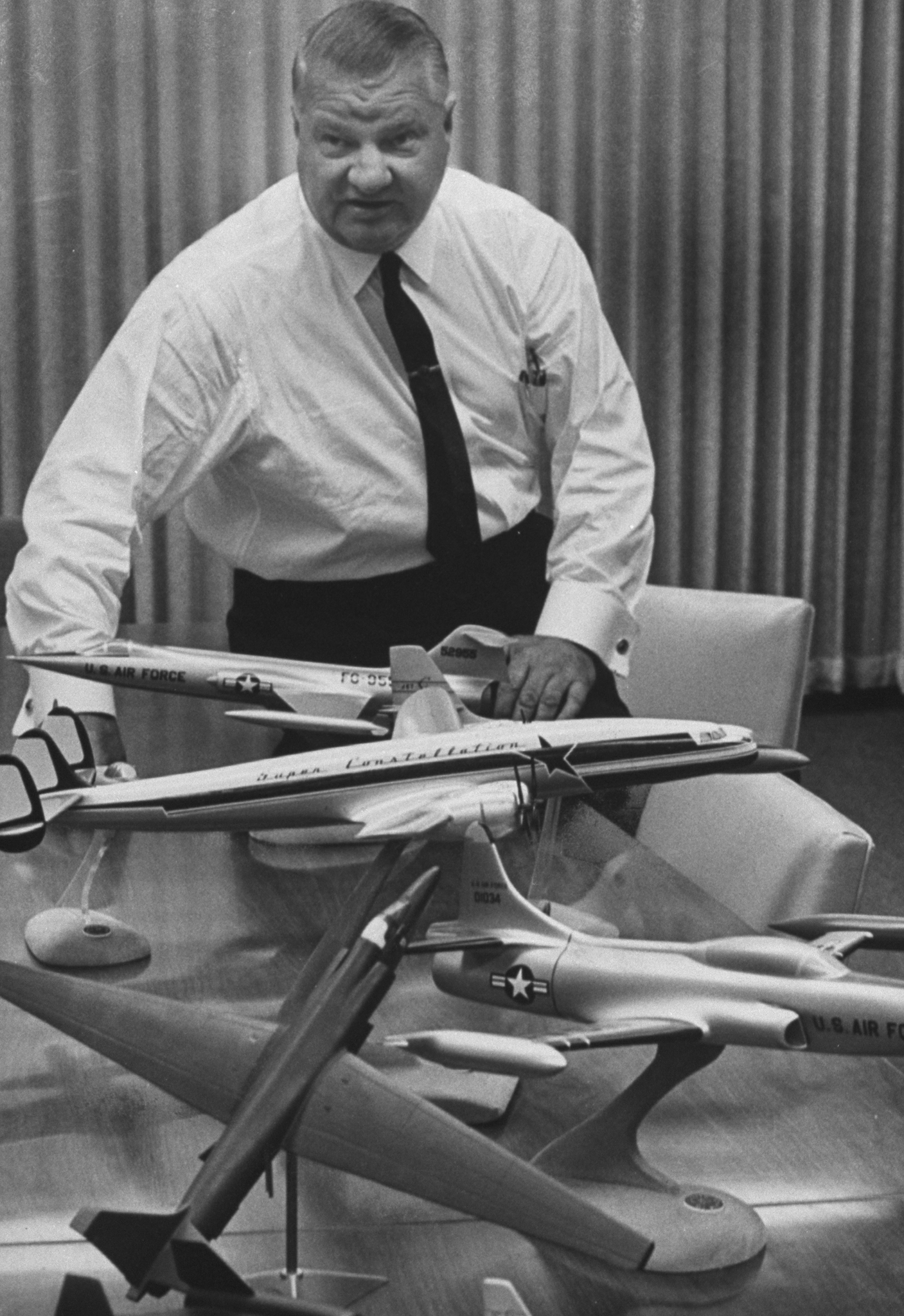 """Clarence """"Kelly"""" Johnson, the lead aircraft designer for the U-2 (Getty Images)"""
