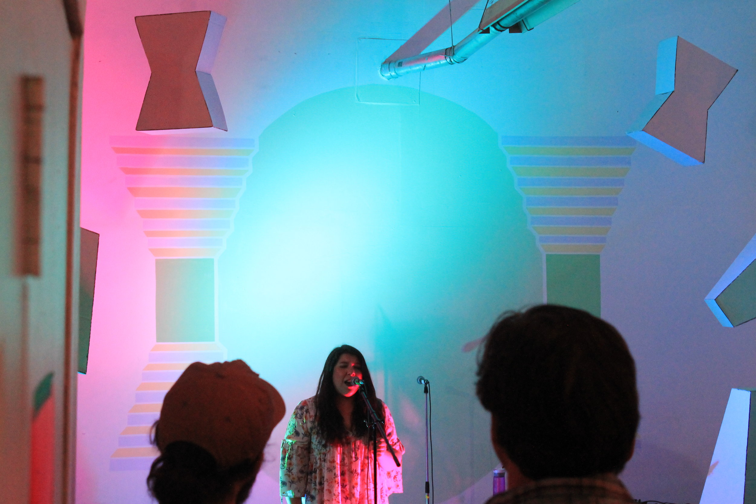 Larissa Desrosiers at DIY Spring Festival 2018 on May 5th 2018 at General Assembly. Photo by Sam Belleus.