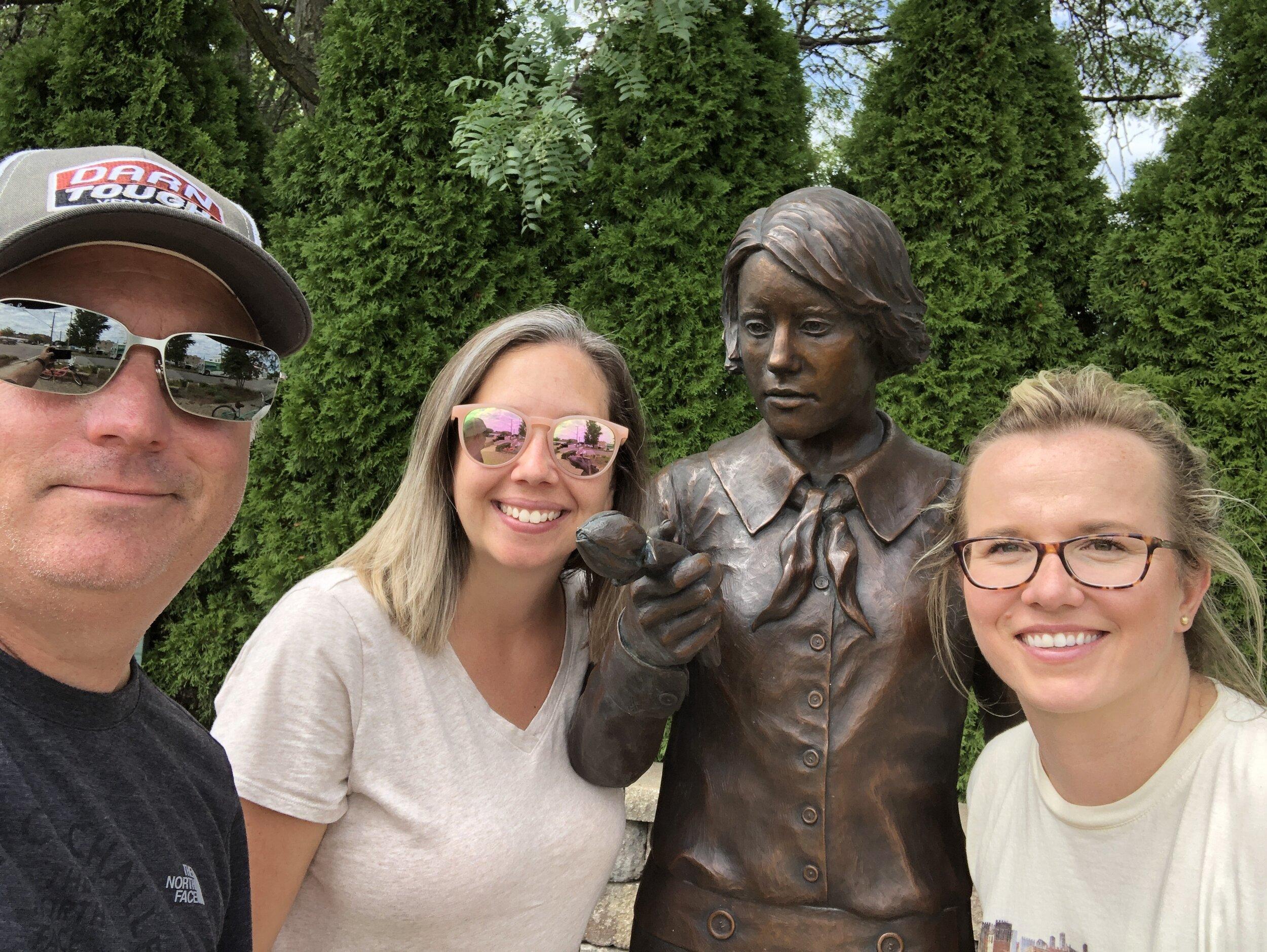 The Radium Girls Memorial Ottawa, Illinois