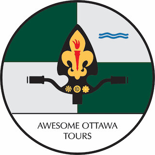 Our logo is based on the flag of the City of Ottawa.