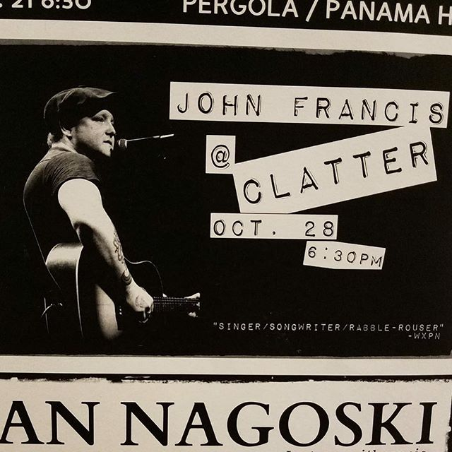 Saturday night at Clatter in Frostburg, MD! Can't wait! #appalachia #oldhaunts