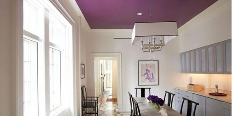 Blog | Purple Painted Ceiling