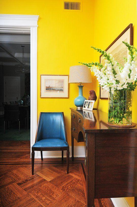 Interior Painting Ideas - Yellow
