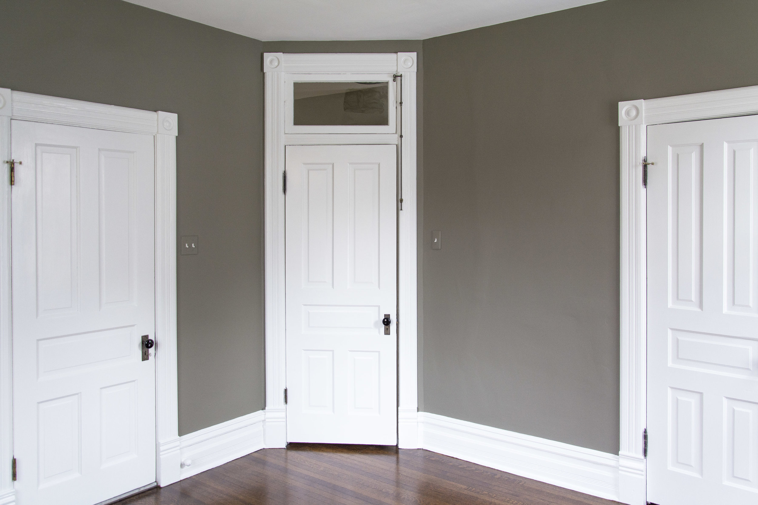 Doors and Trim: White Dove OC-17 by Benjamin Moore
