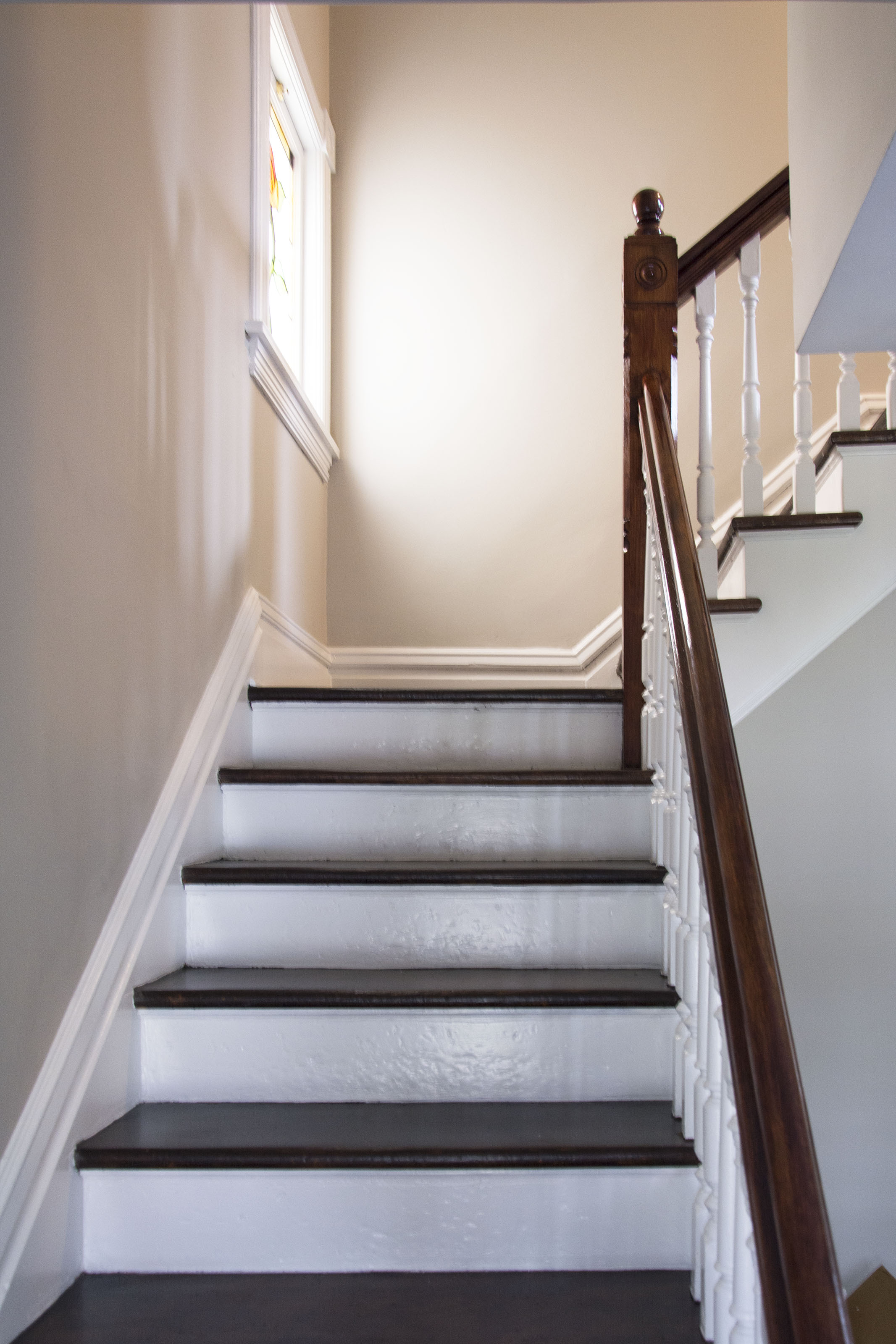 Tops of the stairs: Graphite 1603 by BM