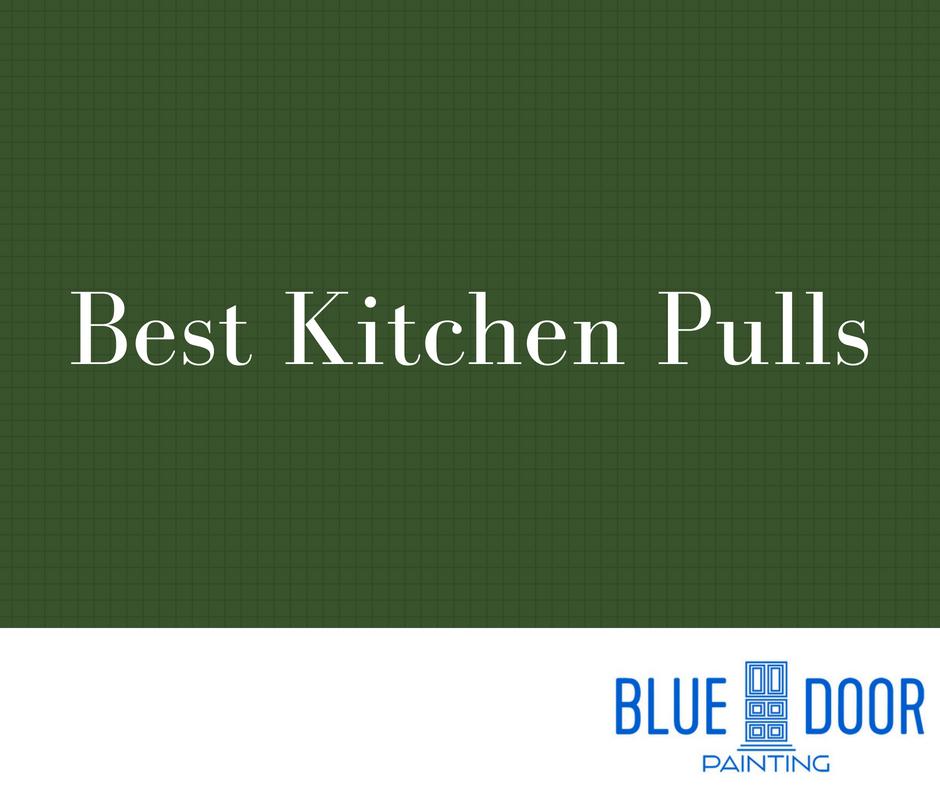 Best Cabinet Pulls Blue Door Painting