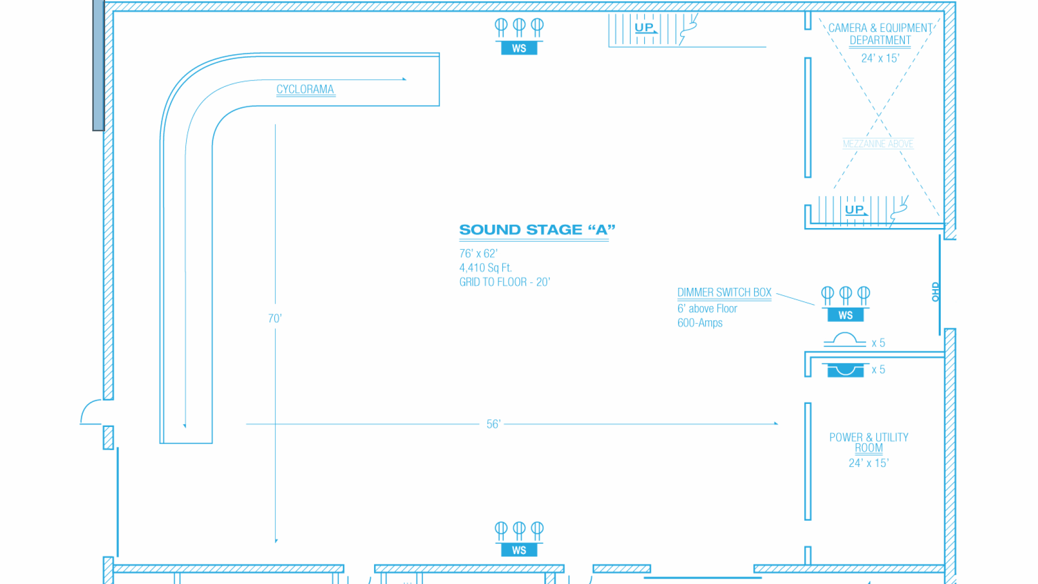 Soundstage A Floorplan