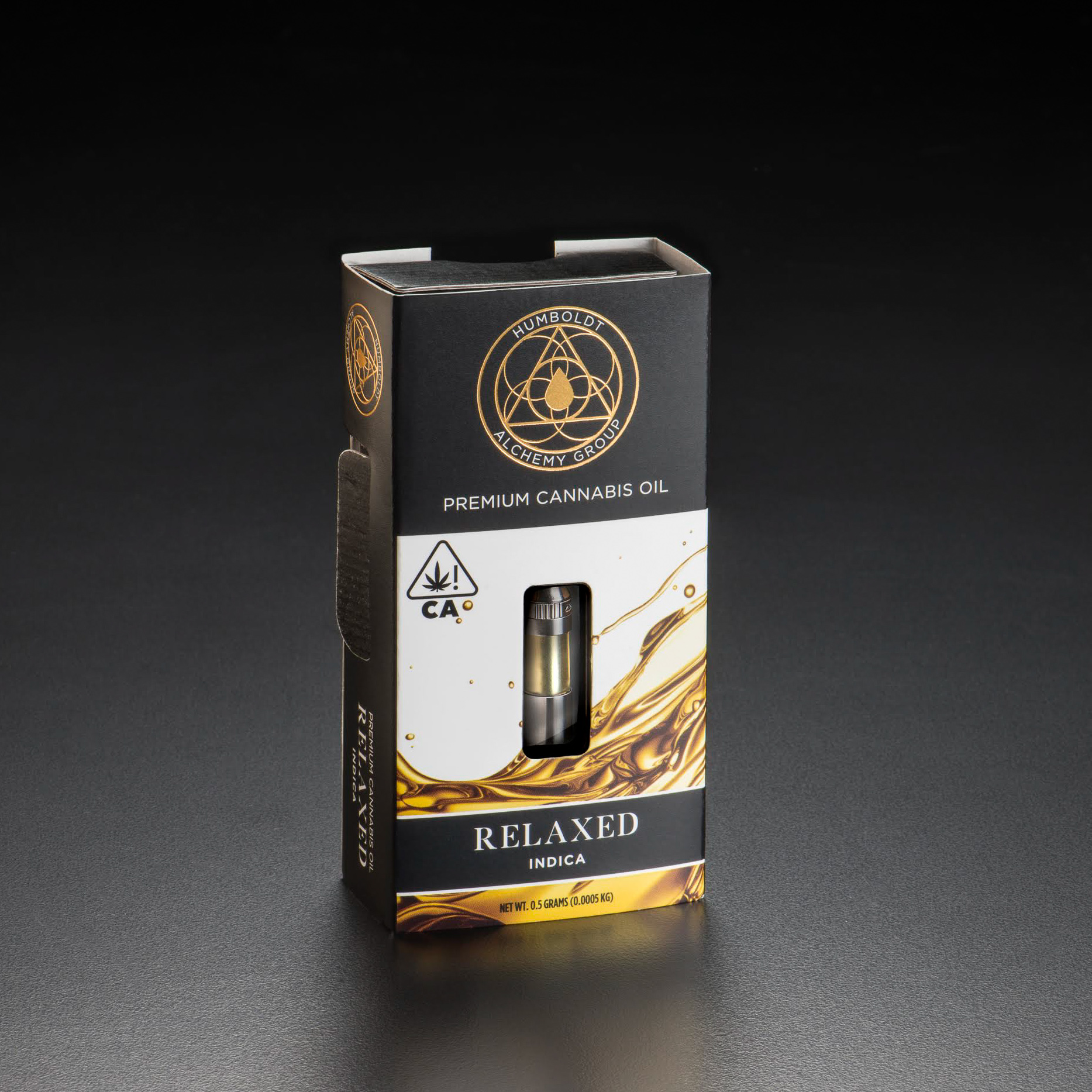 Relaxed - Relaxed offers an unwinding experience that will lead to a deep sigh of tranquility. Featuring the terpene profile of OG Kush. To learn more explore our Strain Library.We take great care in crafting our blend of CO2 extract, distillate, and true cannabis terpenes to offer a high quality and consistent experience.During our process we capture cannabis terpenes and introduce them back into the oil to create depth and flavor in our blends. There are no additives or synthetic terpenes in our products.