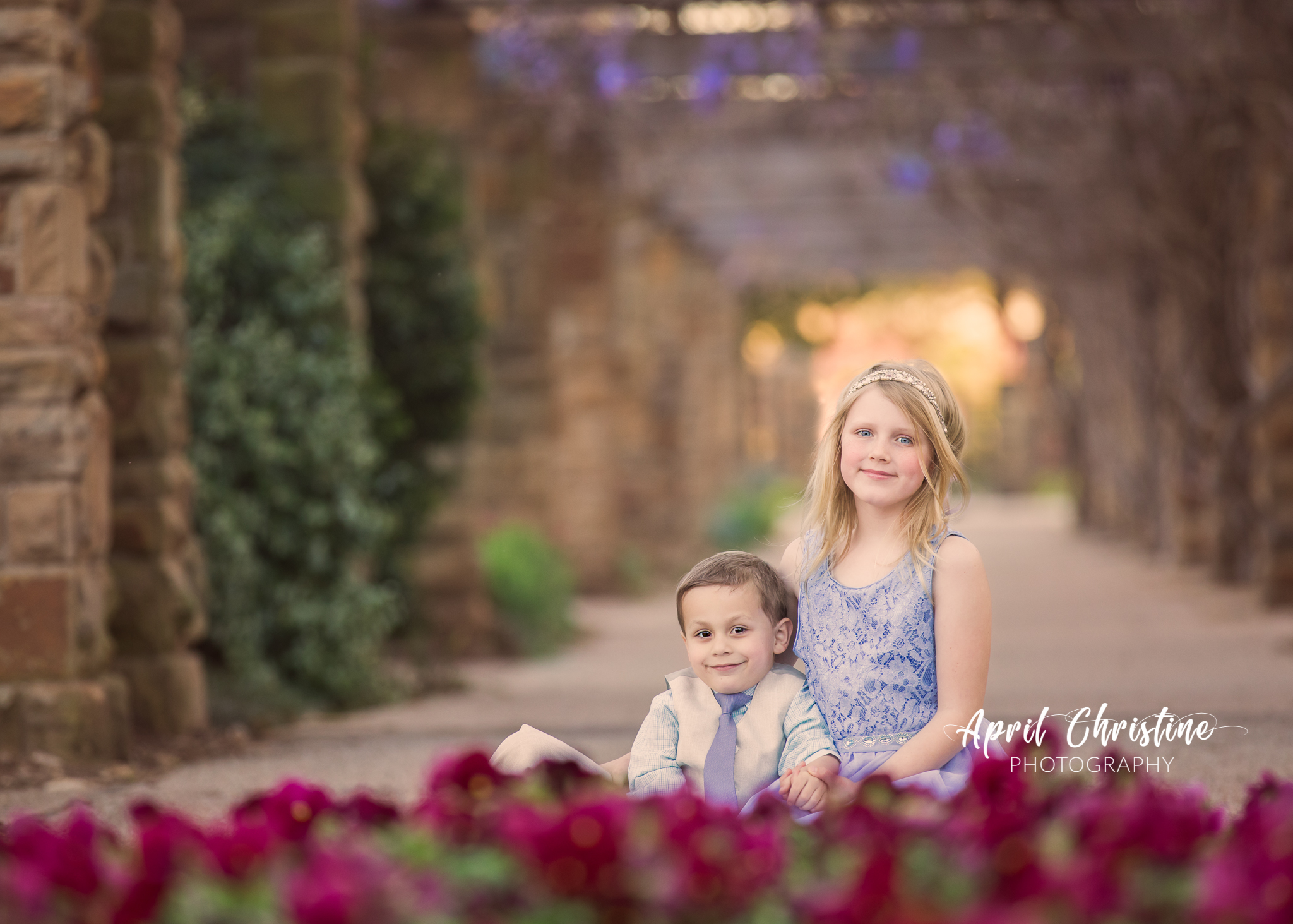Southlake Texas Childrens Photography Ft Worth Botanic Gardens