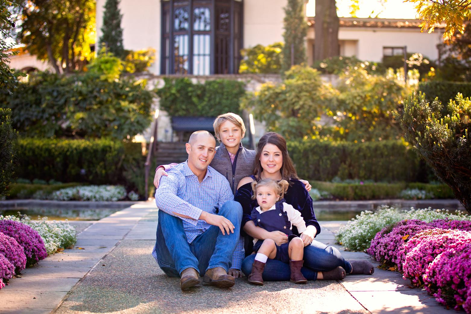 Dallas Arboretum Family Photographer