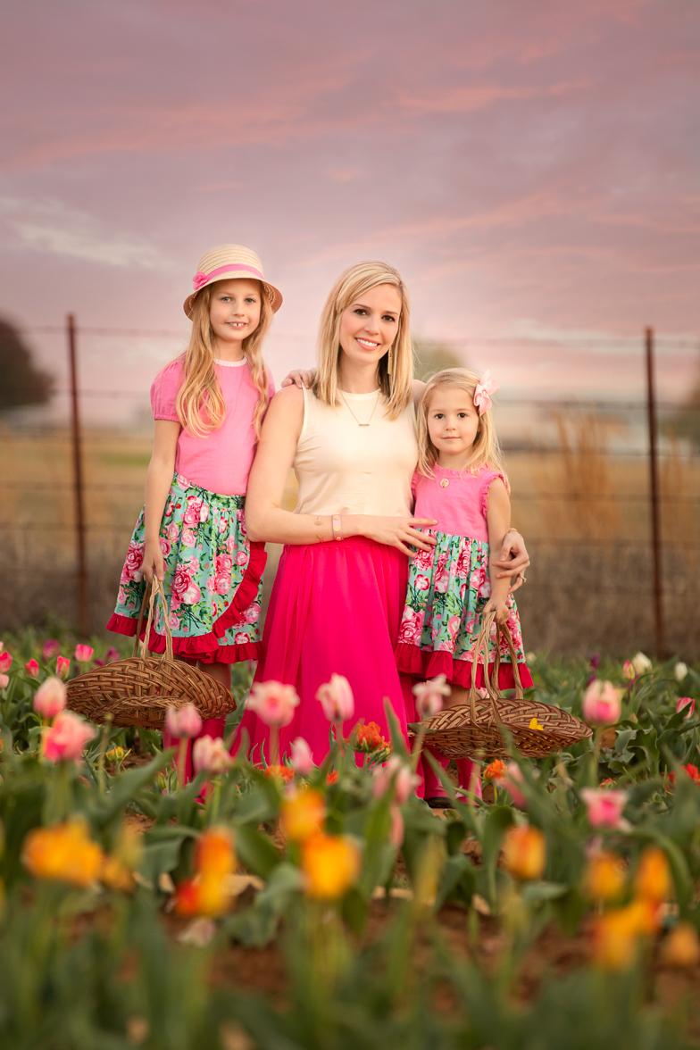 Fort Worth Family Photographer Texas Tulips