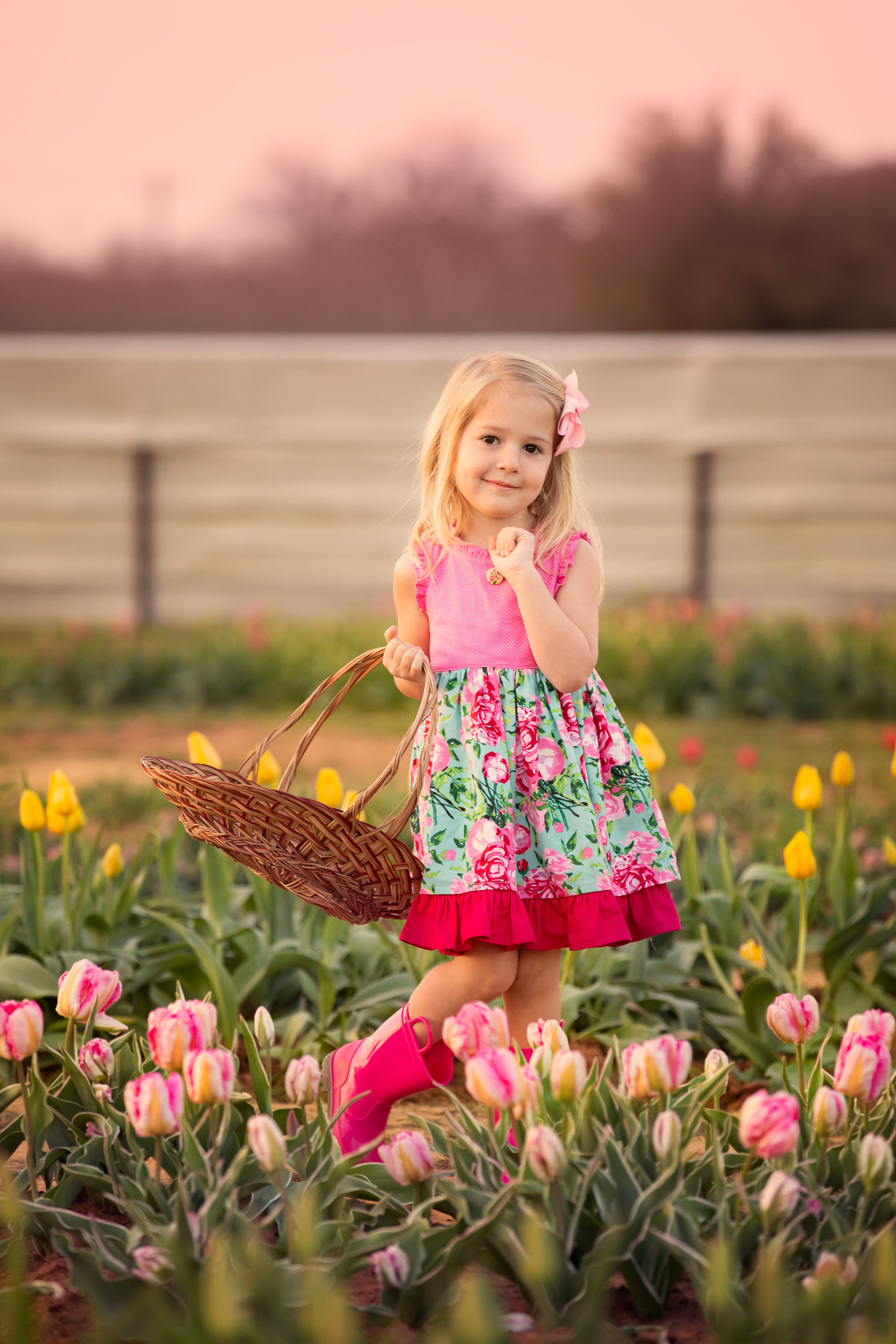 Texas Tulips Family Photographer