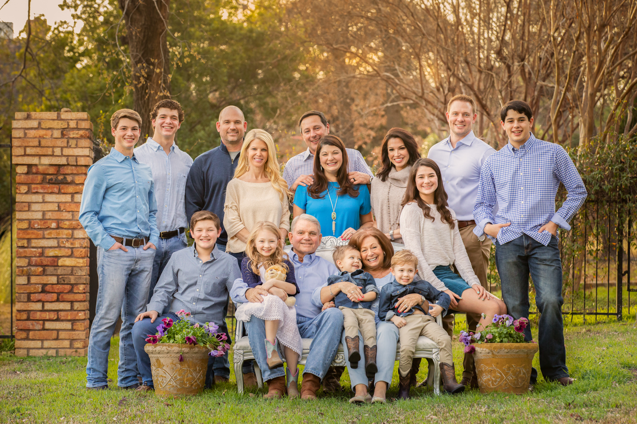 Multi Generational Portrait Southlake Texas