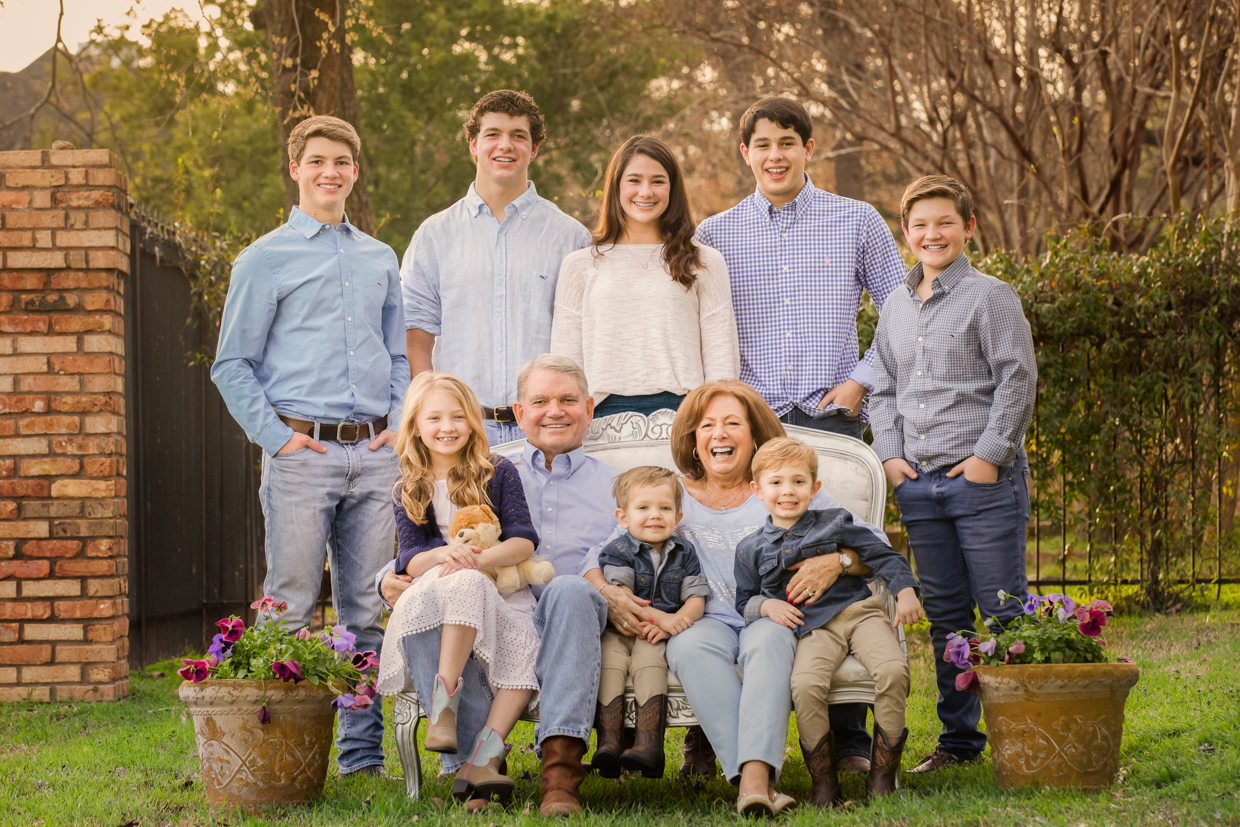 Grandparents and their grandchildren in Southlake