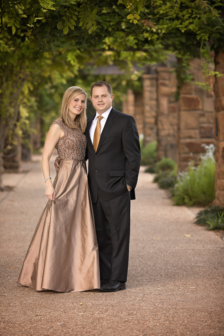 Fort Worth Botanic Garden Photographer Formal Dress