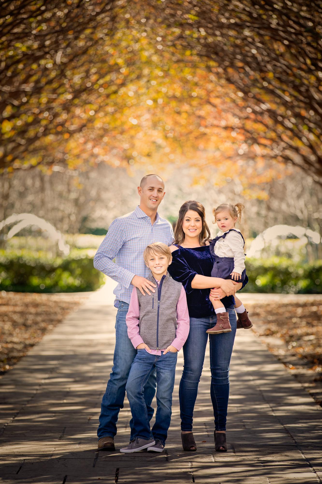 DFW Family Photographer Dallas Arboretum Session