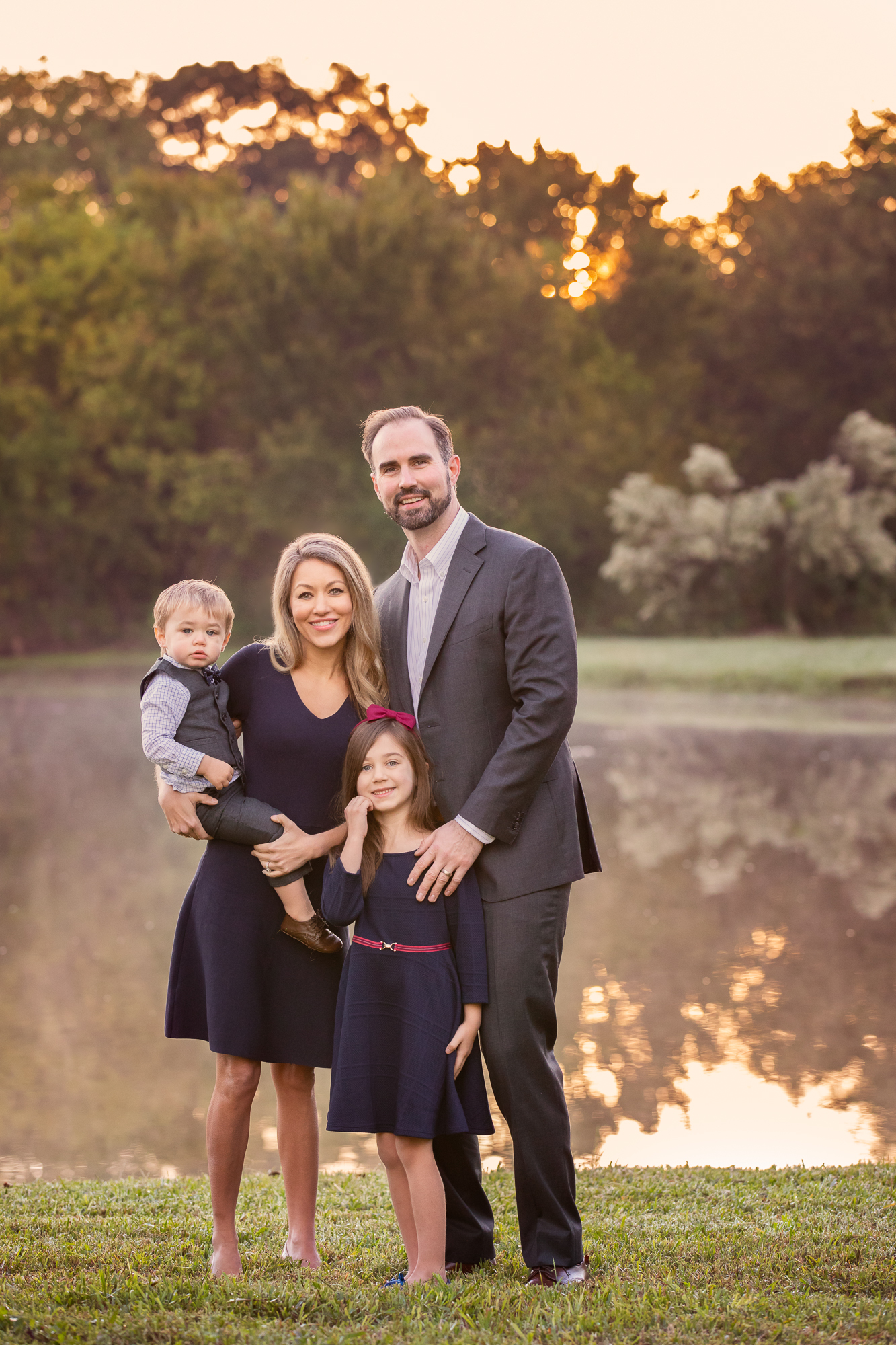 Fall Family Portraits Colleyville Texas
