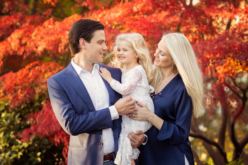 Dallas Arboretum Family Photography