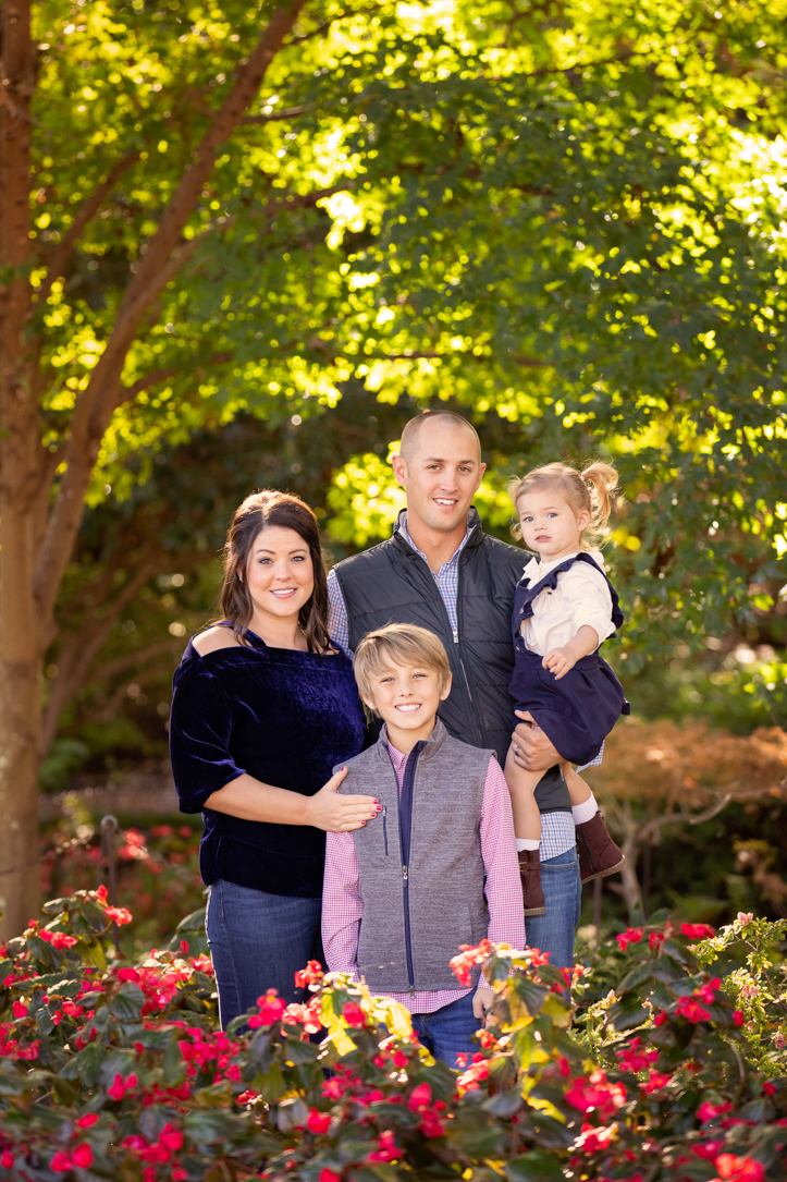 Dallas Arboretum Family Pictures